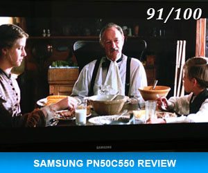 Samsung PN50C550 Review