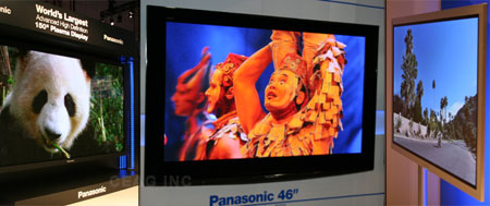 Panasonic CES 2008 Worlds Largest Plasma TV