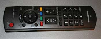 Panasonic TH-42PX75U Remote