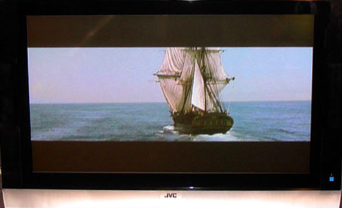 "The PD-42V475  JVC Plasma auditions ""Master and Commander"""