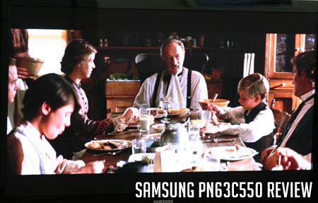 Samsung PN63C550 Review