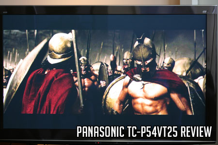 Panasonic TC-P54VT25 Review