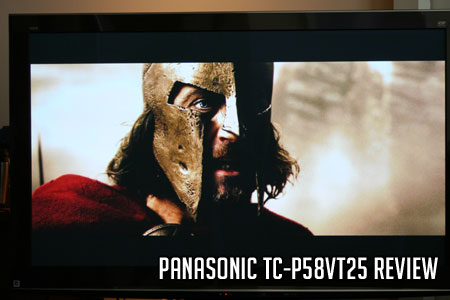 Panasonic TC-P58VT25 Review