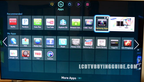 Samsung UN65F6300 Smart TV